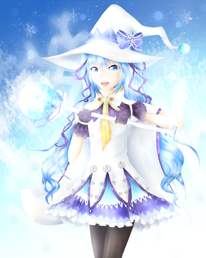 Snow Miku 2014 By Crinuyi On DeviantArt