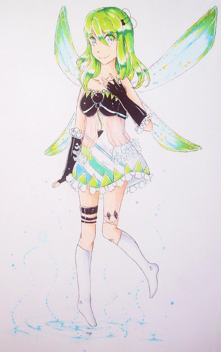 dragonfly gijinka by crinuyi
