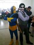 Deathstroke and Joker