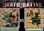 DEATH BATTLE: 20 Million Powers VS Heroes for Hire