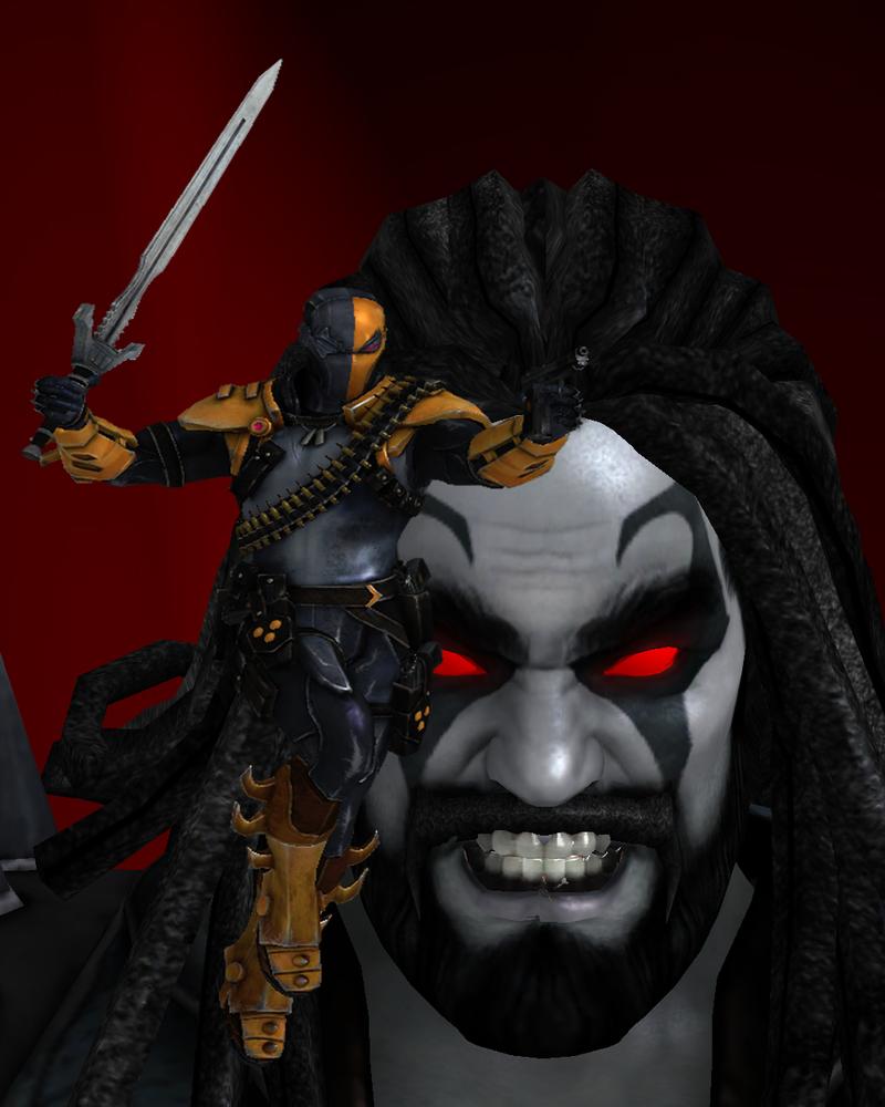 Deathstroke vs Lobo by...