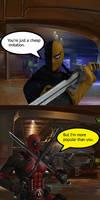 Injustice: Deadpool vs Deathstroke by TheDeadstroke