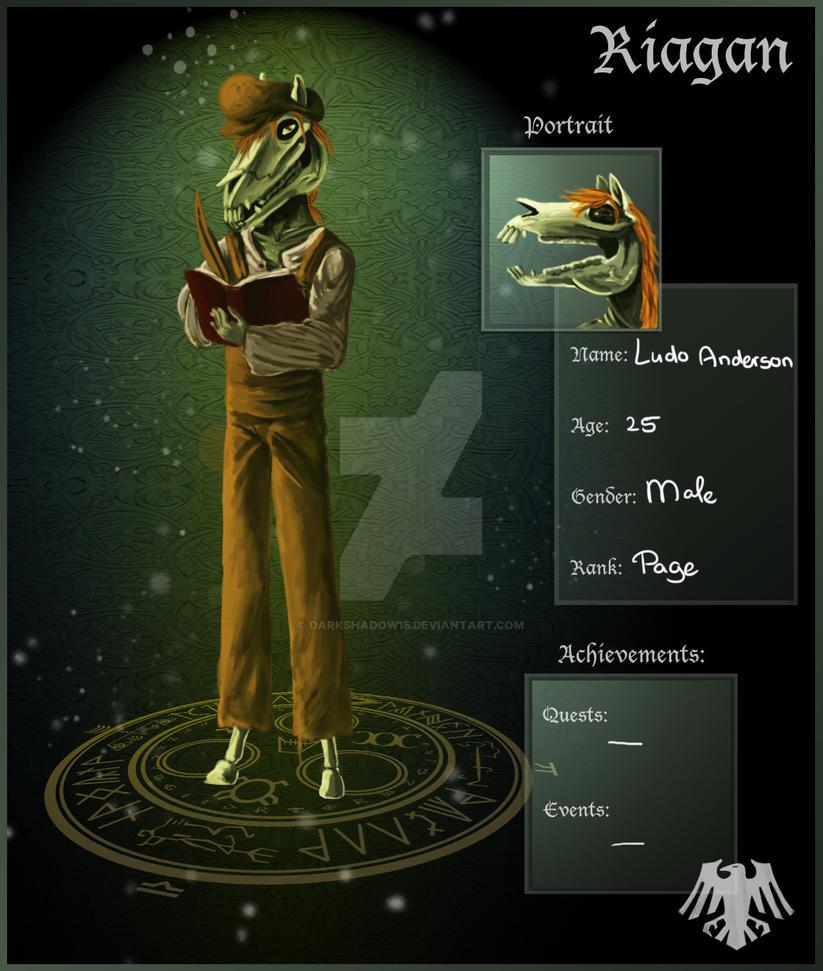 Ludo Anderson Riagan app by DarkShadow15 on DeviantArt