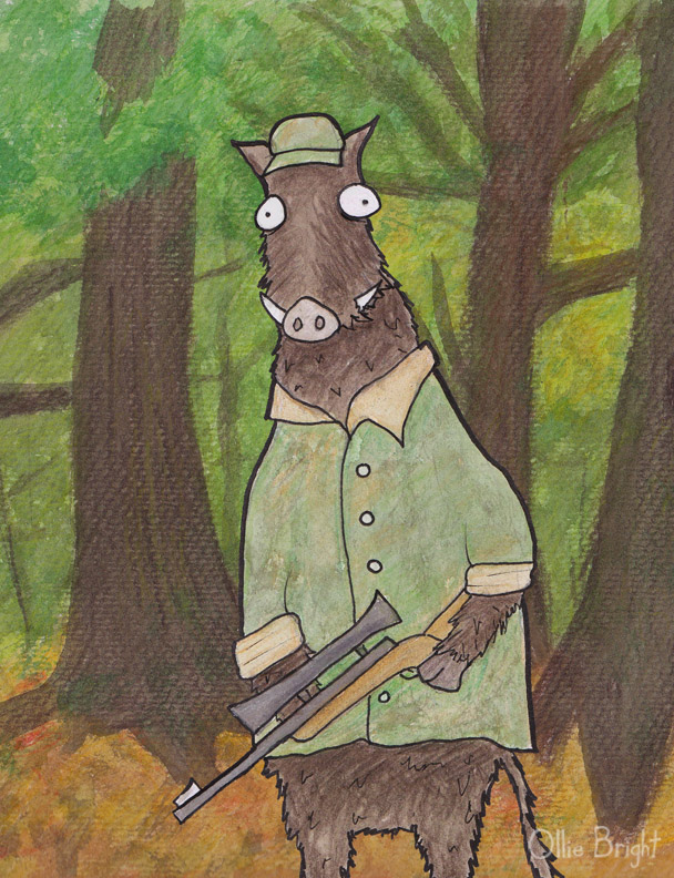 Boar Hunter by 0lliebot