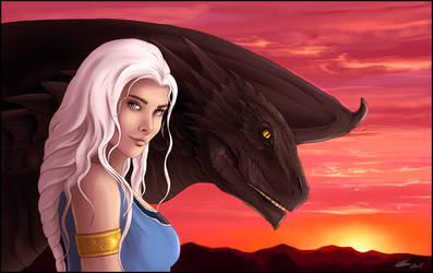 Daenerys Targaryen. by Noxeri
