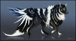 Long Haired Wolf - 500 points! (closed) by Noxeri