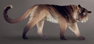 Feline - adoptable auction (closed). by Noxeri