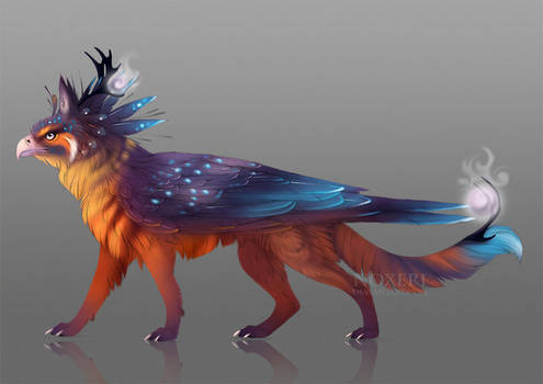 Mythic Arcanox adoptable - Sunset (open)