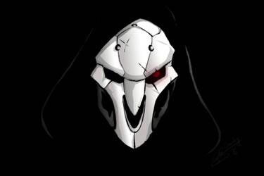 Reaper-Overwatch  by Draxlorik