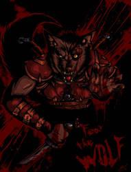 J'ziir Fear the Wolf  by Draxlorik