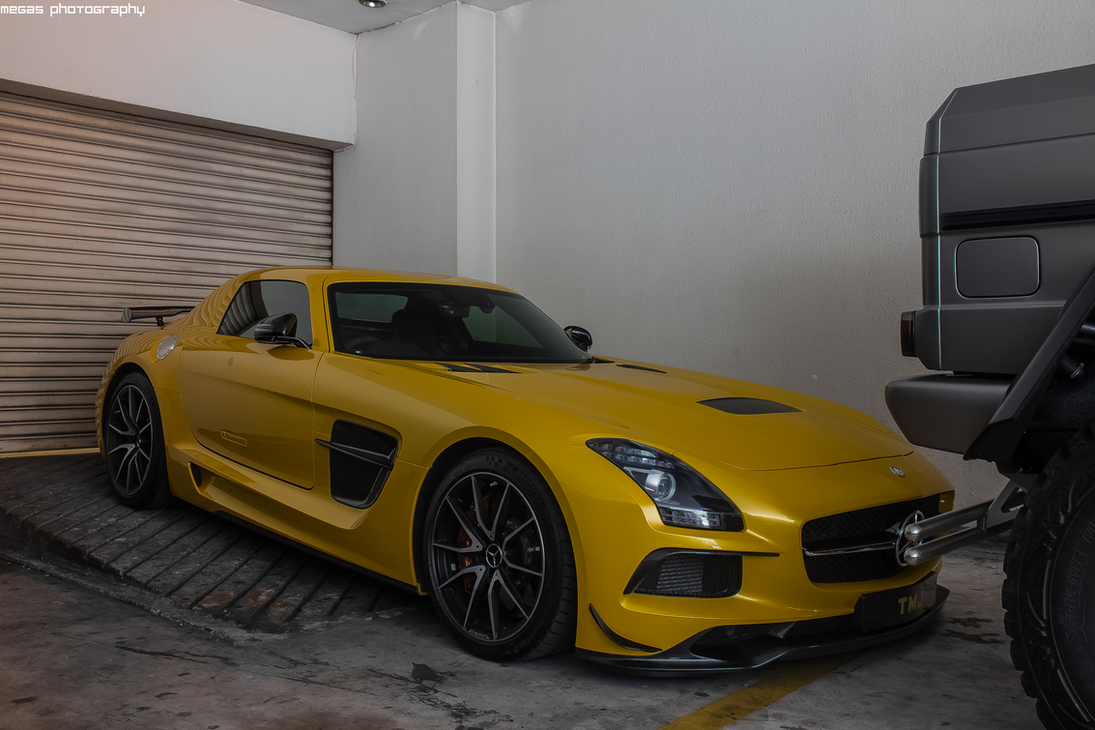 Mercedes benz sls amg coupe black series by for 2015 mercedes benz sls amg coupe