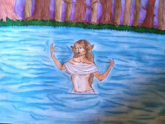 Faun priestess  by Syntaleartz