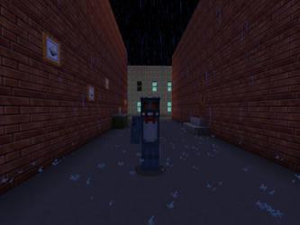 Broken Toy Bonnie (Minecraft) by DarthKilliverse