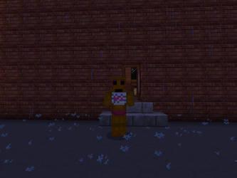 Broken Toy Chica (Minecraft) by DarthKilliverse