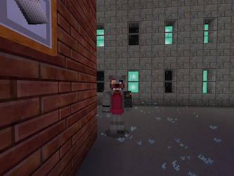 Broken Toy Foxy (Minecraft) by DarthKilliverse
