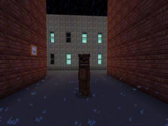 Broken Toy Freddy (Minecraft) by DarthKilliverse