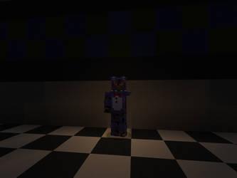 Withered Bonnie (Minecraft) by DarthKilliverse