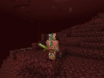 Zombie Pigman (Texture Update) by DarthKilliverse
