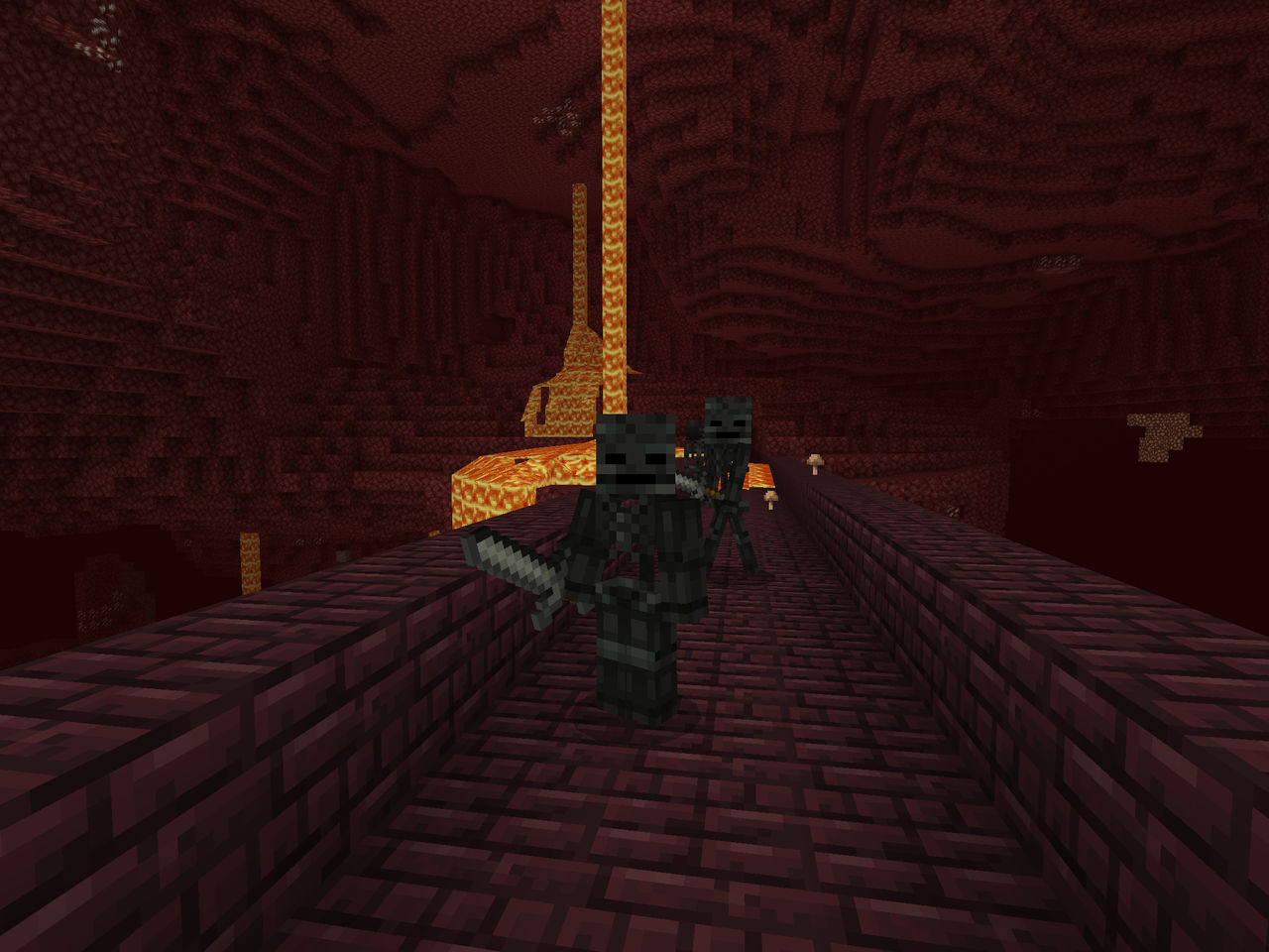 Wither Skeleton Texture Update By Darthkilliverse On Deviantart