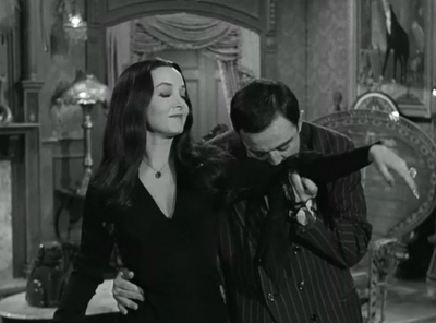 Gomez and Morticia by MasterJappy97 on DeviantArt