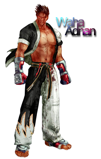 jin kazama tekken 4 render by wahaadnan on deviantart