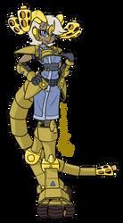 OC-Tober Day 13 - Stacks of Gold