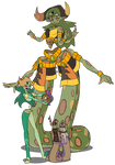 Gem Fusion - Polychrome Jasper (Commission)