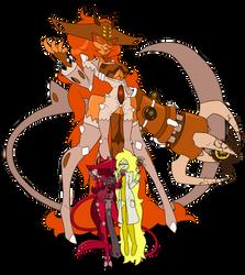 Gem Fusion - Spessartine (Commission) by B-F-T-A