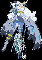 Gem Fusion - Celestite (Prize) by B-F-T-A