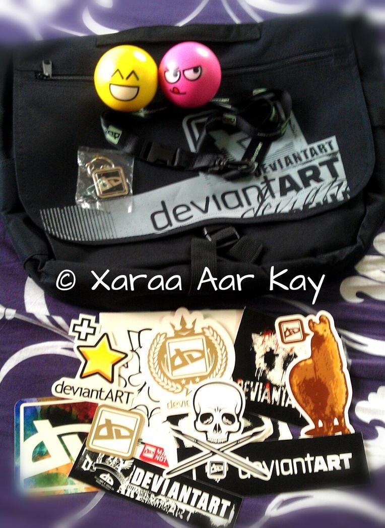 Black Messenger dA Memorabilia Pack by XaraaKay