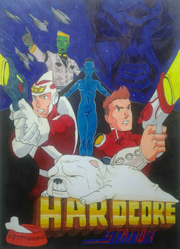 Hardcore Station Poster