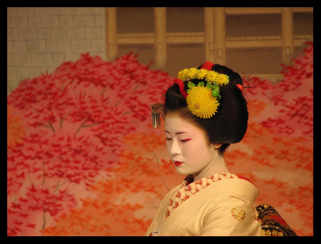 Fotos secretas de las mujeres Geishas en la Japn