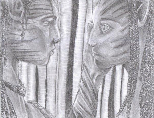 Jake and Neytiri by xunbridledx