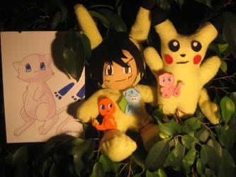 Pokemon Cuteness 2 by Calzones-Plushies