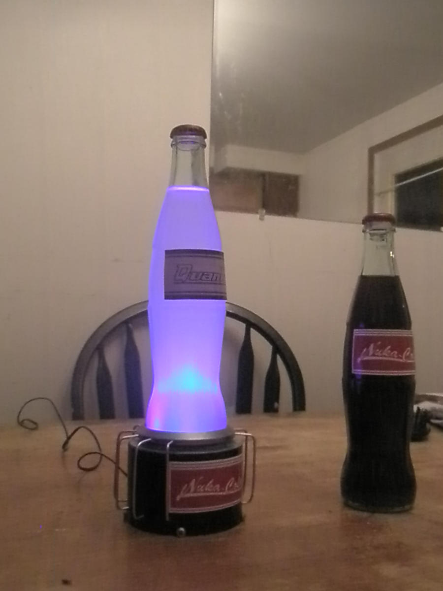... Nuka Cola And A Quantum By Kfklown