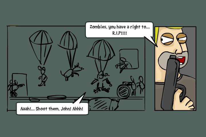 Zombieshooter Comics4 by Helgiii