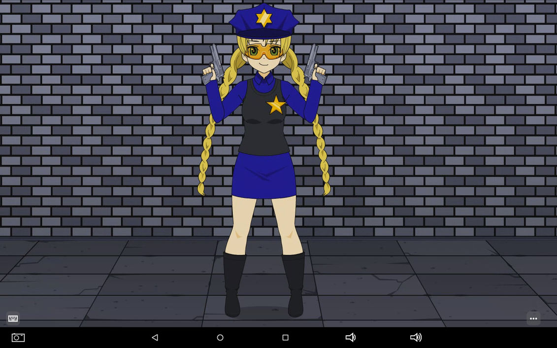 OFFICER AZURE   AGED-23 by MEGAF1SH