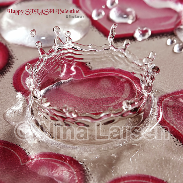 Happy SPLASH Valentine by ninazdesign