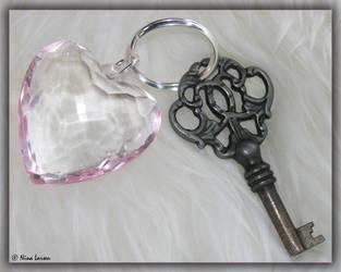 The Key To My Heart by ninazdesign