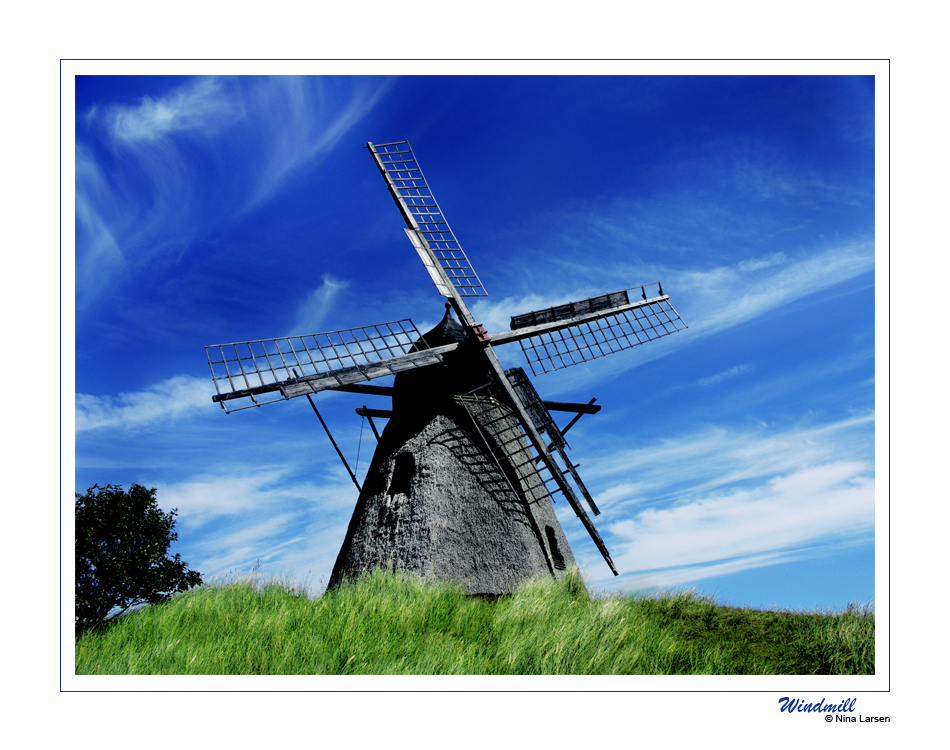 Windmill by ninazdesign