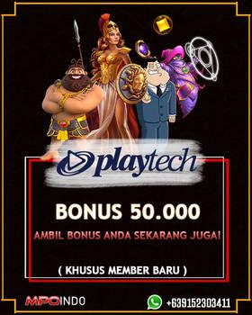 Bonus Playtech Slot 50 ribu MPOINDO
