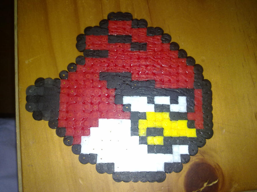 Perler Hama Beads ~ Angry Bird by Yuny-Chan