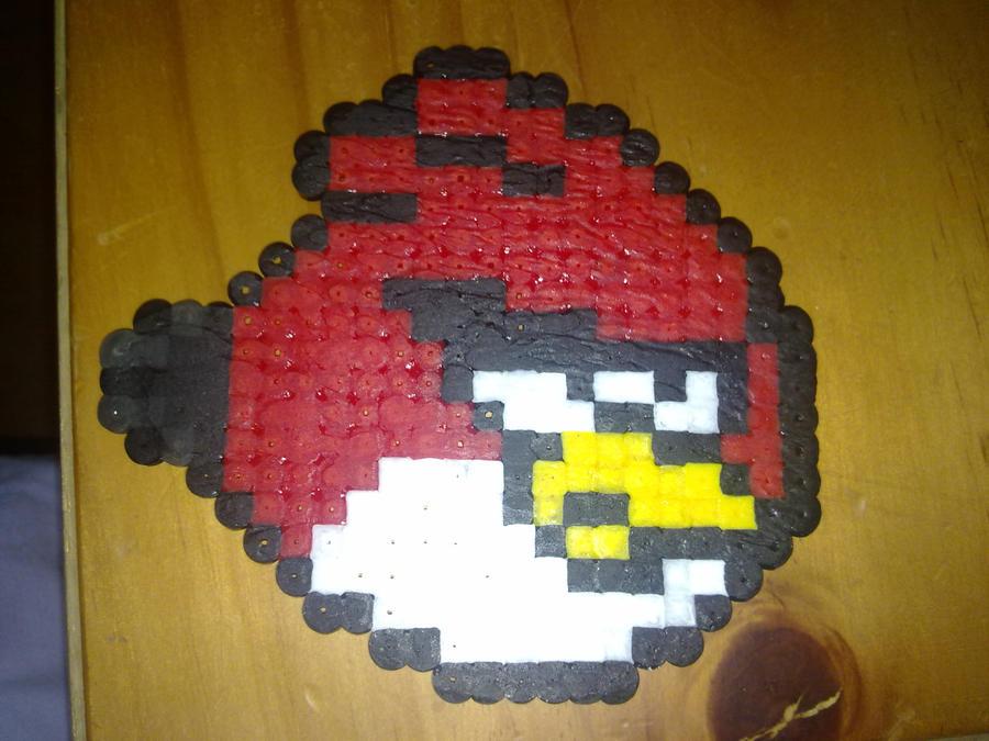 Perler Hama Beads ~ Angry Bird by Yuny-Chan