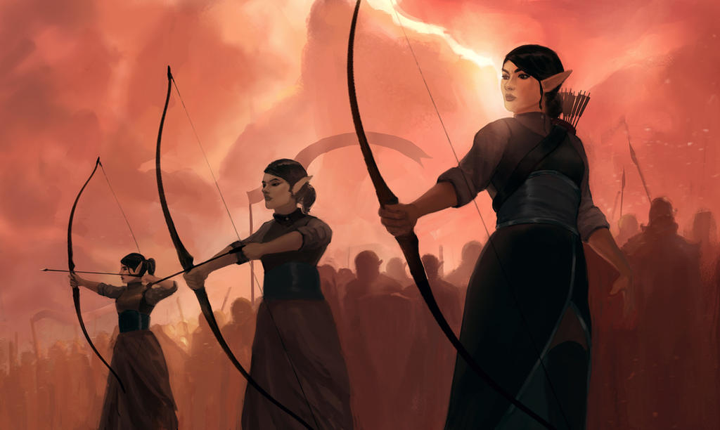 Archers by BrianKellum