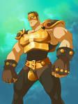 Justice Knight from Wakfu fanart