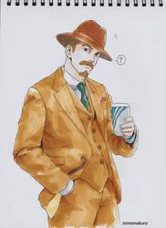 KangWen in suits by inmomakuro