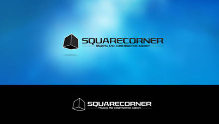 SquareCorner Logotype by obsid1an