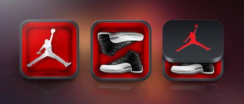Air Jordan iOS Icon by obsid1an