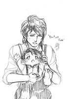 Bilbo and Frodo by sey-kurohashi