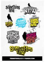 SOMETHING NEW LOGO by adiosta